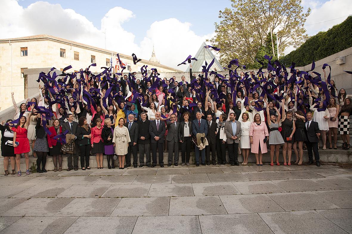 Ejemplo de imágenes de graduaciones realizadas por Foto Mimosa.